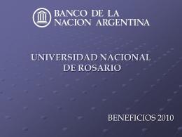 Diapositiva 1 - Universidad Nacional de Rosario (UNR