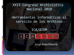 Software para Archivos ICA/ATOM