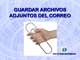 GUARDAR ARCHIVOS ADJUNTOS DEL CORREO