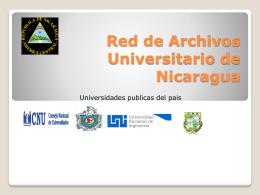 Red de Archivos Universitario de Nicaragua