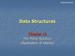 Data Structures - Intercollege Cyprus