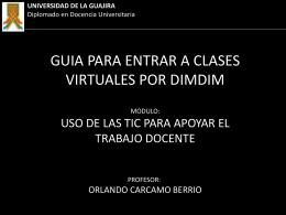 Diapositiva 1 - Espacio Virtual de Orlando Carcamo | La