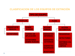CAPACITACION EXTINTORES