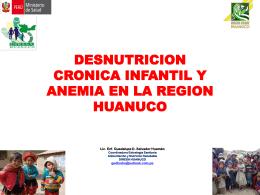 DESNUTRICION CRONICA INFANTIL Y ANEMIA EN LA …