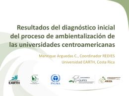 Resultados de cuestionario a universidades centroamericanas