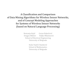 A Classification and Comparison of Data Mining …