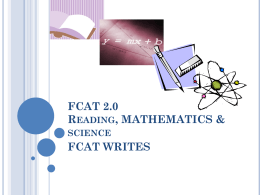 Elementary and secondary reading and writing