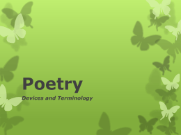 Poetry - South Kitsap School District