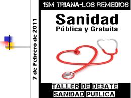 Sistemas de salud.