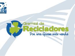GREMIAL DE RECICLADORES
