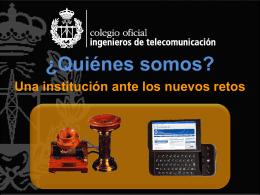 Diapositiva 1 - Colegio Oficial Ingenieros de