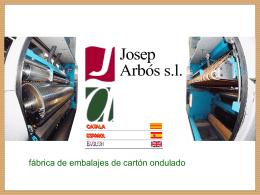 JOSEP ARBOS S.L.