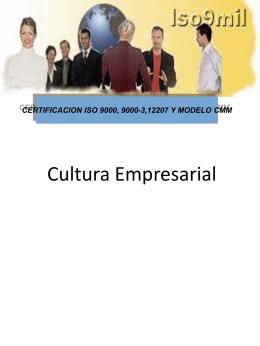 Cultura Empresarial