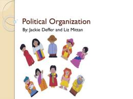 Political Organization - Loudoun County Public Schools