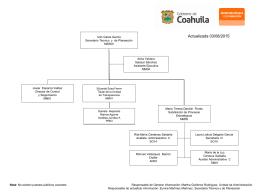 Diapositiva 1 - Coahuila Transparente