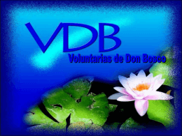 Voluntarias de Don Bosco
