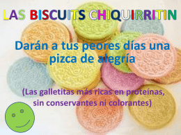 AS BISCUITS CHIQUIRRITIN