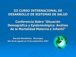 Diapositiva 1 - Home - Pan American Health Organization