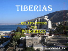 Tiberias - Autores Catolicos
