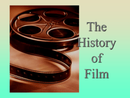 World Film History - Seneca Valley School District