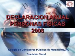 TALLER PRACTICO DECLARACION ANUAL PERSONAS …