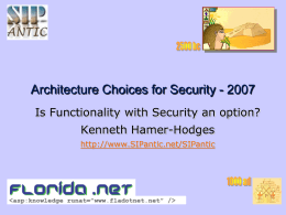 Security Architectures, POLA and Capabilities