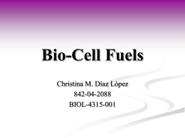 Bio Cell Fuels