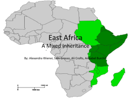 East Africa A Mixed Inheritance