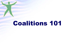 Sample Presentation on Local Coalition Building