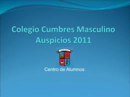 Colegio Cumbres Masculino Auspicios 2010