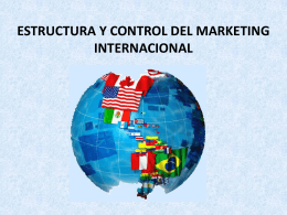 ESTRUCTURA Y CONTROL DEL MARKETING …