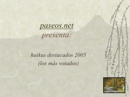 destacados 2005