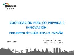Diapositiva 1 - Cluster Turismo Galicia