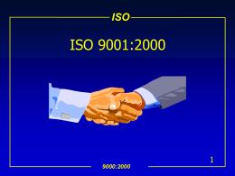 Curso de ISO 9000:2000