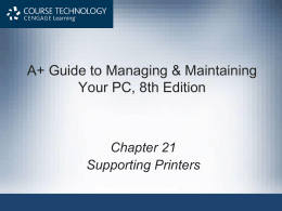 Laser Printers - Houston Independent School District