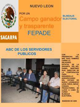 Diapositiva 1 - Inicio SAGARPA