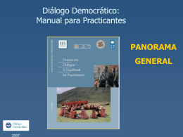 Diapositiva 1 - Democratic Dialogue Network
