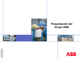 ABB Group presentation