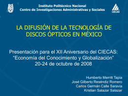 PRIME-ICTs in Mexico