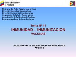 ESQUEMA DE INMUNIZACION REVISION 2009