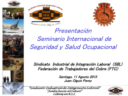 Asamblea Ordinaria Abril 2012