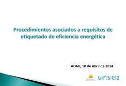 Diapositiva 1 - ADAU- Bienvenidos a ADAU