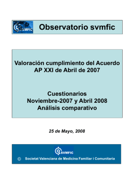 OBSERVATORIO ABRIL 2008