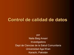 Quality control - Home - Bibliotheca Alexandrina