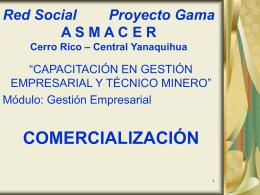 Red Social Proyecto Gama A S M A C E R Cerro Rico
