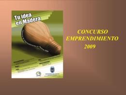 Bases para el Concurso Emprendimiento 2009