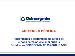 Audiencia Publica