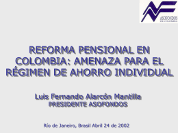 AGENDA - World Pension Association