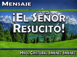 Diapositiva 1 - Iglesia Bautista Berea de Monterrey