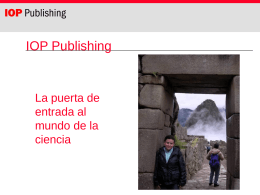 IoPP on-screen PowerPoint slides